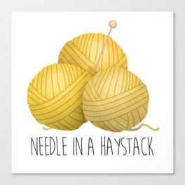 Needle In A Haystack Canvas Print