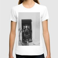vintage camera T-shirts featuring Vintage Camera by KimberosePhotography