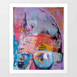 Sunglasses, 2011 Art Print
