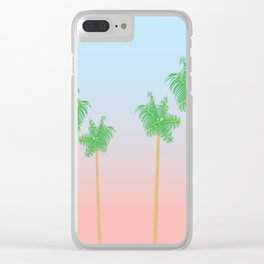 West Coast Dreaming Clear iPhone Case