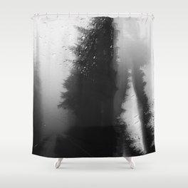 What Lies Down Hidden Rain Drenched Paths Shower Curtain