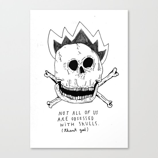 GETTING RID OF PUNK-ROCK MYTHS #1 Canvas Print