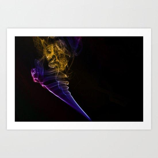Smokey 12 Art Print