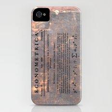 Economics iPhone (4, 4s) Slim Case