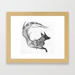 Sly Spirit Framed Art Print