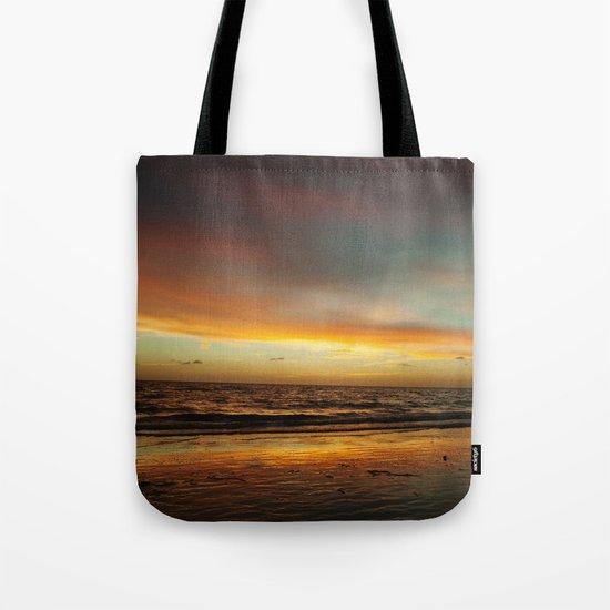 Florida Beach Sunset Tote Bag