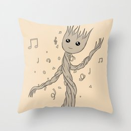 Groot baby Throw Pillow