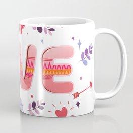 Flora Love Boho Style Coffee Mug