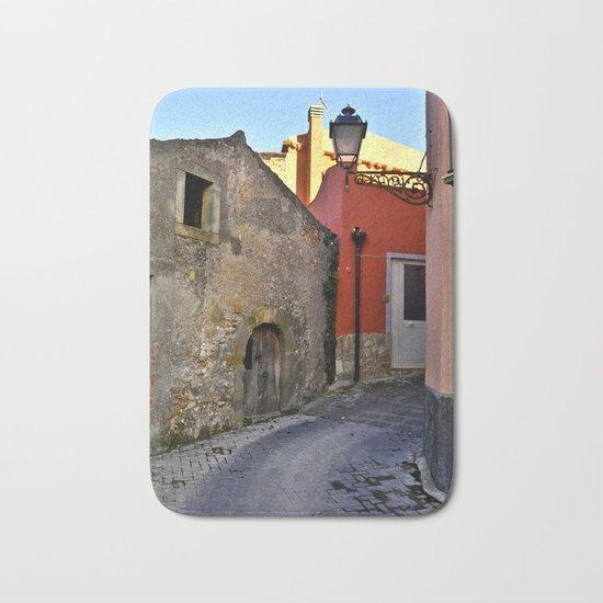 Medieval village of Sicily Bath Mat