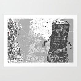 Metropoli Art Print