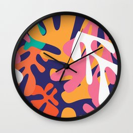 Matisse Pattern 010 Wall Clock
