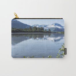 Placer River at the Bend in Turnagain Arm, No. 1 Carry-All Pouch