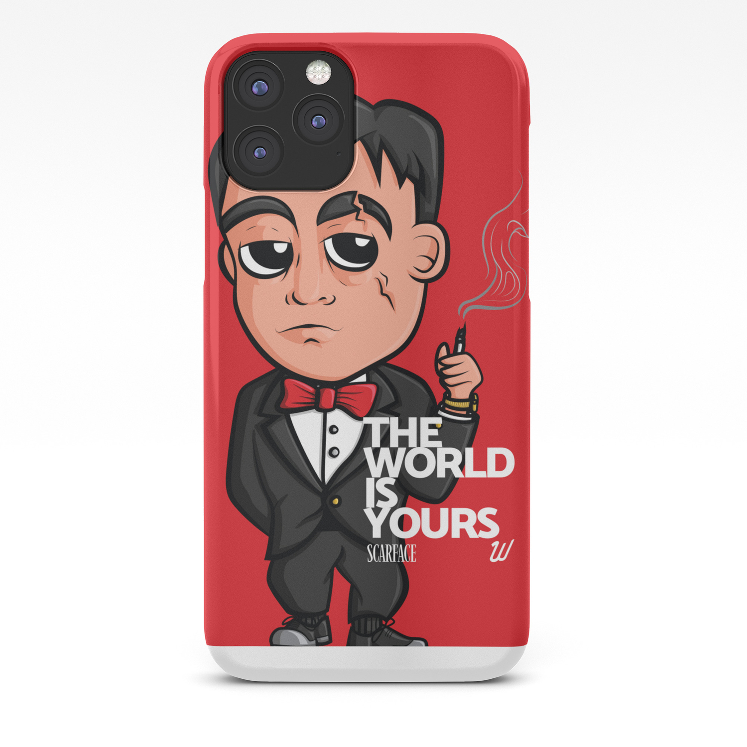 Scarface The World Is Yours Iphone Case By Wallacedesignco Society6