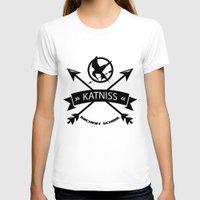 katniss T-shirts featuring Katniss Archery School by Art of Tyler Newcomb