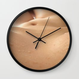 Fresh Drops Wall Clock