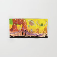 Rick and Morty - Silhouette Hand & Bath Towel