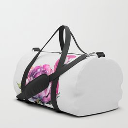 Flower Flamingo Duffle Bag