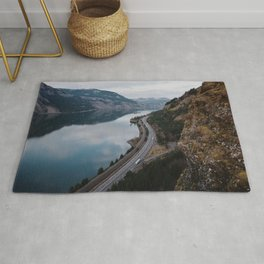 Columbia River Gorge III Rug