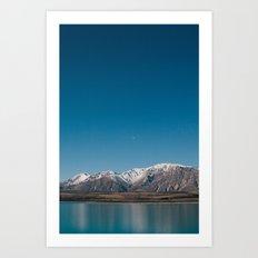 Lake Tekapo II Art Print