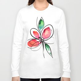 Ecstasy Bloom No. 3 by Kathy Morton Stanion Long Sleeve T-shirt