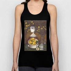 Portrait of an Apple Orchard Unisex Tank Top
