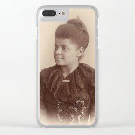 Ida B. Wells 1893 Clear iPhone Case