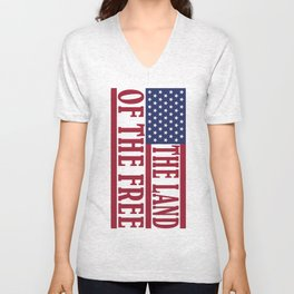 Land of the Free Unisex V-Neck