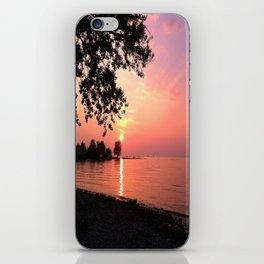 Sundown on Lake Constance iPhone Skin
