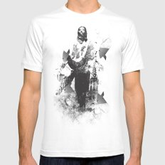 Divine MEDIUM White Mens Fitted Tee