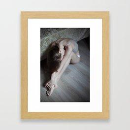 Gentle lady Framed Art Print