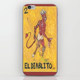EL Diablito iPhone Skin