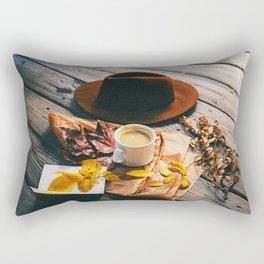 Autumn Morning Rectangular Pillow