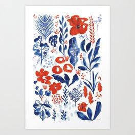 Figment Fields  Art Print