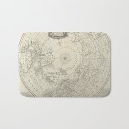 Artic Map / 1780 Bath Mat