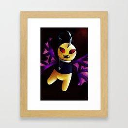 Bat!Sup Framed Art Print