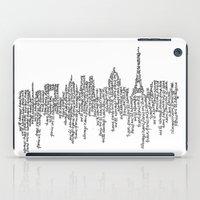 casablanca iPad Cases featuring Paris by S. L. Fina