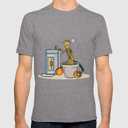 Baby Groot listening to the awesome mix vol.1 T-shirt