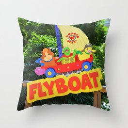 Wonderpets Flyboat Throw Pillow