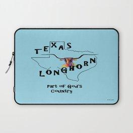 Texas Longhorn God's Country Laptop Sleeve