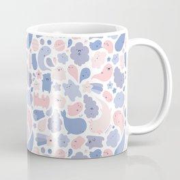 Colors Of The Year Doodle - Rose Quartz & Serenity - Pantone Coffee Mug