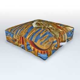 The Golden Boys Outdoor Floor Cushion
