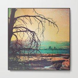 Bear Creek Sunset Metal Print