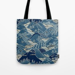 Blue Mountains Tote Bag