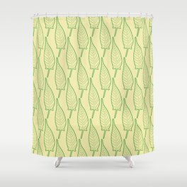 Hollow Leaf Shower Curtain