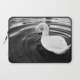 White swan. Laptop Sleeve