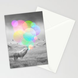 The Echoes of Silence Stationery Cards