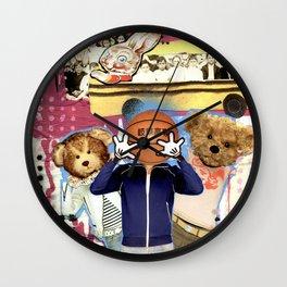 COLLAGE: School Wall Clock