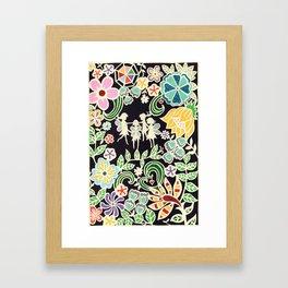 'I Believe in faries' Framed Art Print