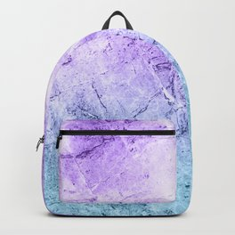 Lilac & Blue Marble Texture Backpack