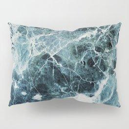 Blue Sea Marble Pillow Sham